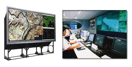 Rear Projection Screens & Control Rooms