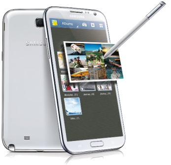 Click to view details of - Samsung Galaxy Note II